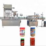 Color Touch Screen Bottle Capping Machine For Capping Semi – Liquid Products